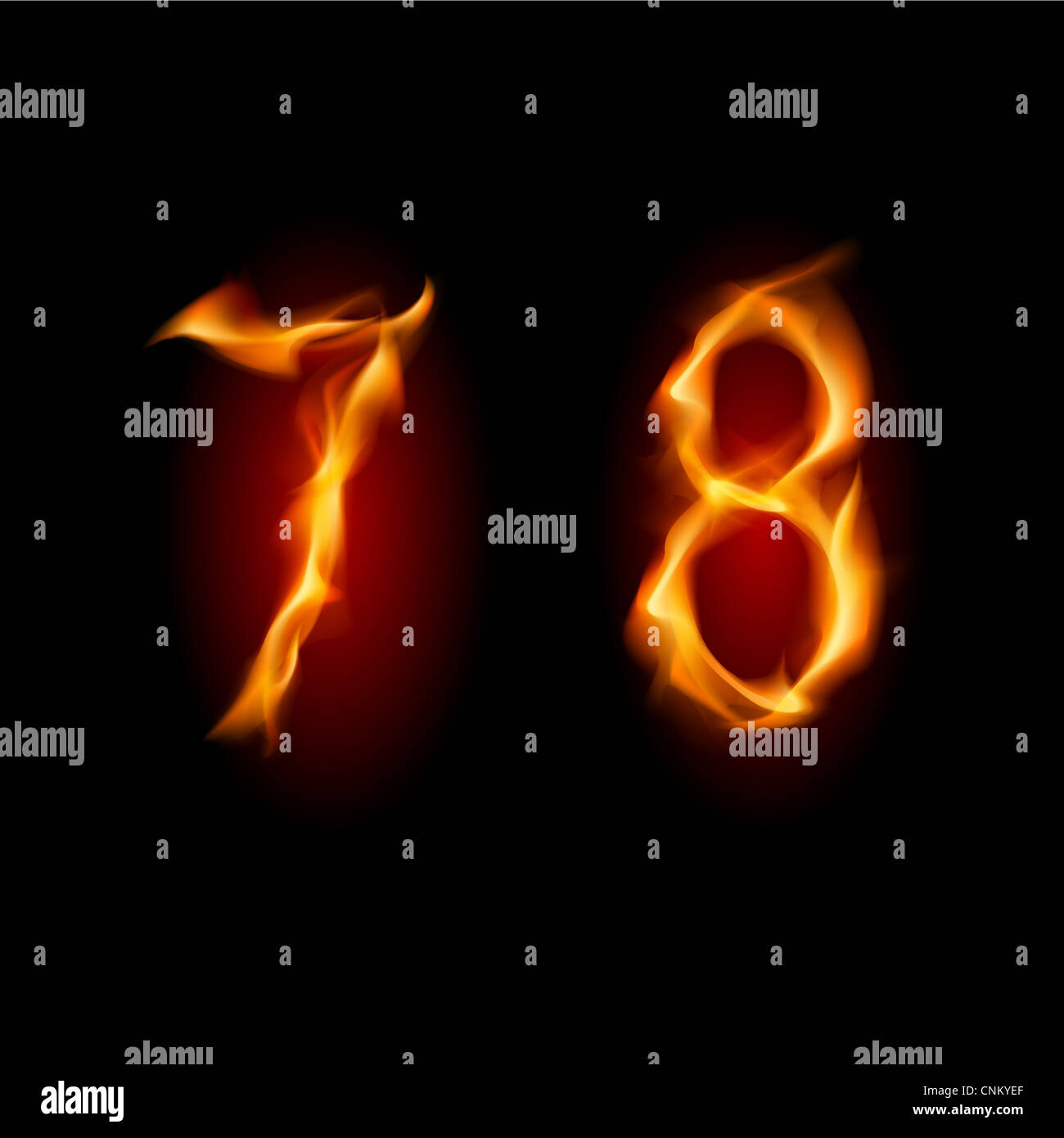 Tribal Flame Symbol Isolated On Stock Photos Tribal Flame Symbol