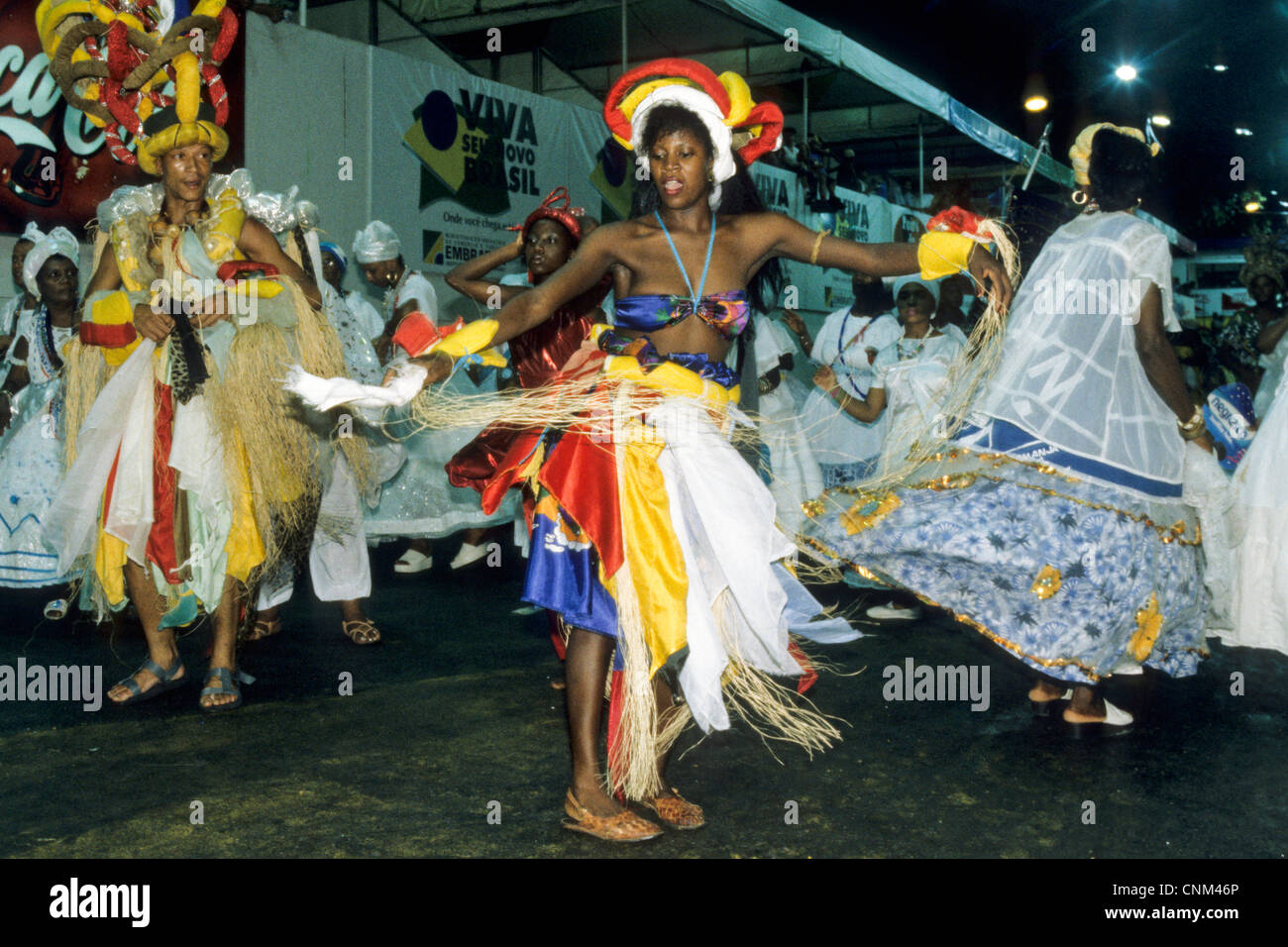 Dancers celebrate Carnival in allegoric and traditional