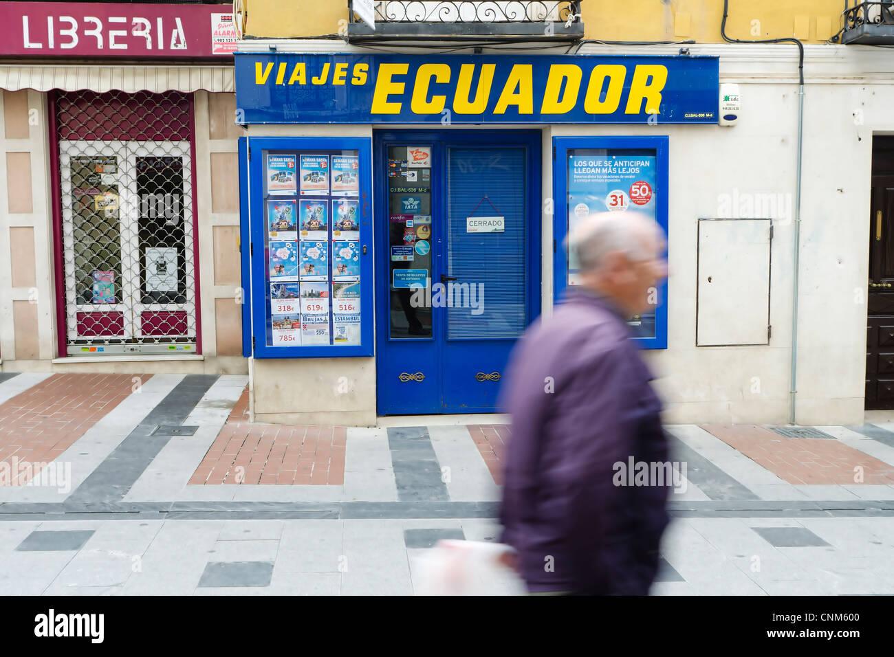 VIAJES ECUADOR - Stock Image