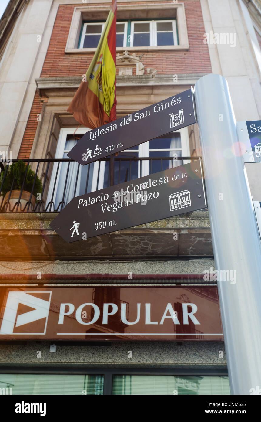 BANCO POPULAR DE ESPAÑA - Stock Image
