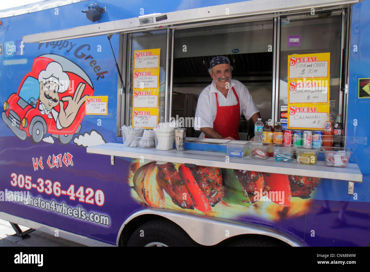 Traveling Food Truck Business