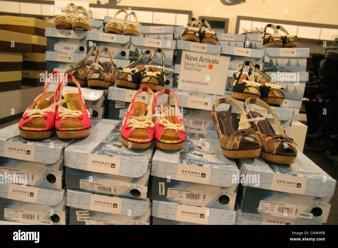 a18ef15ff Miami Florida Sweetwater Dolphin Mall shopping Lord   and Taylor Outlet  Store women s retail display for sale fashion shoes