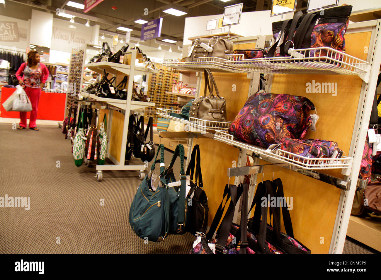 Miami Florida Sweetwater Dolphin Mall shopping Neiman Marcus Last Call  Clearance Center centre women s handbags - e2a06b61ccd1b