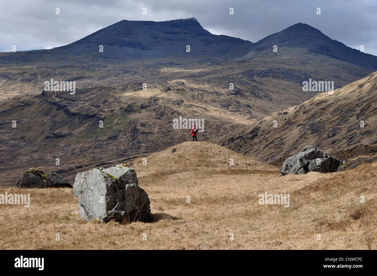 Ben More from near Teanga Brideig, Mull, Scotland - Stock Image