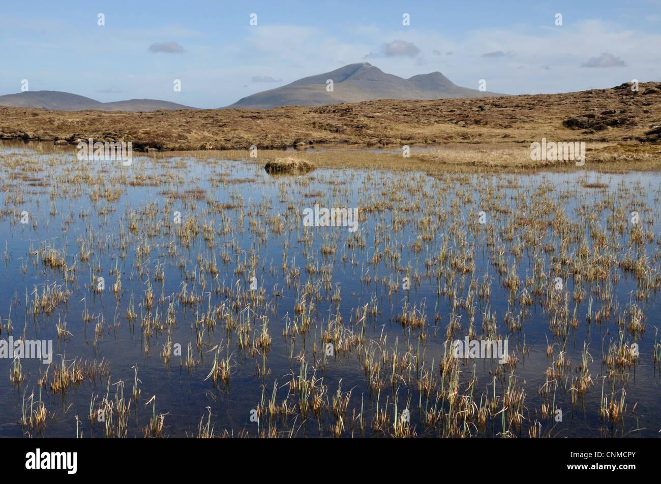 Ben More from Beinn Chreagach near Carsaig, Mull, Scotland - Stock Image