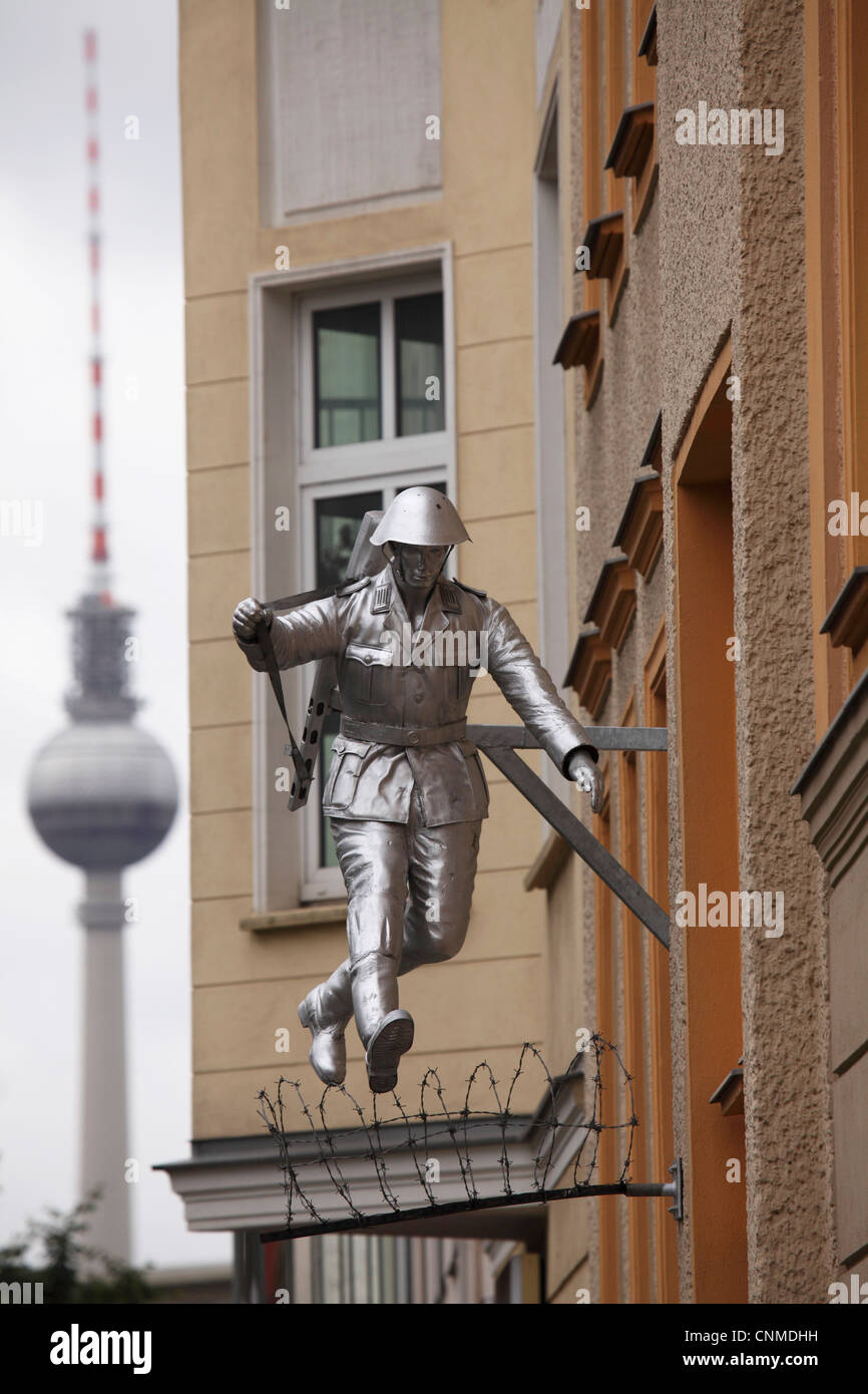 Berlin Television Tower, Berlin Germany, Europe Stock Photo