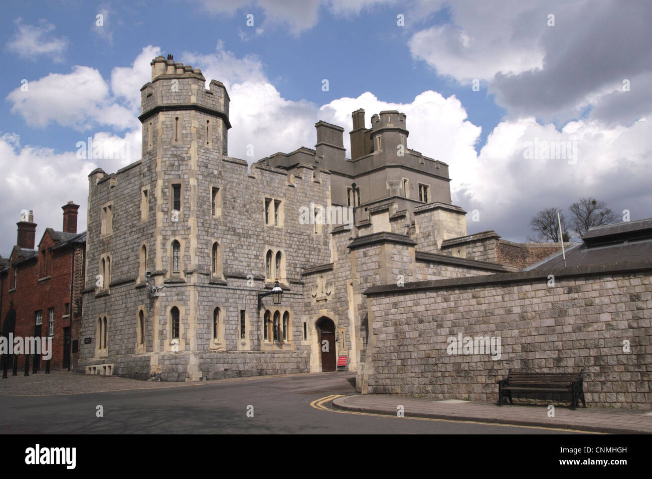 Burford House Windsor Berkshire - Stock Image
