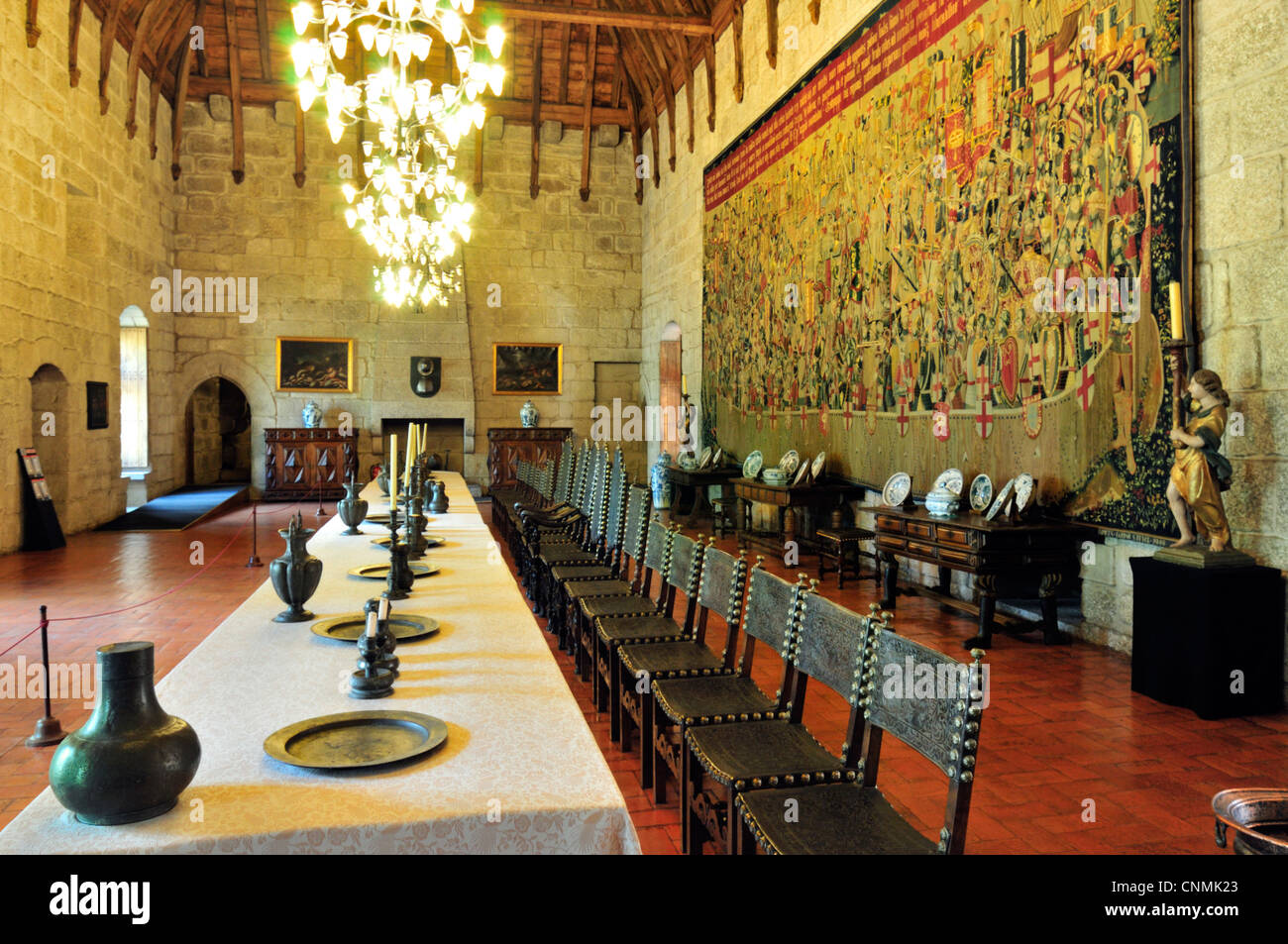 Medieval Banquet Table Stock Photos & Medieval Banquet Table