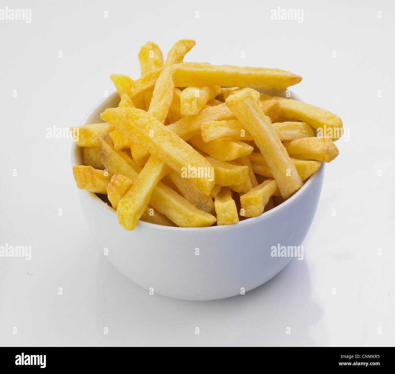 Chips, french fries, cutout - Stock Image