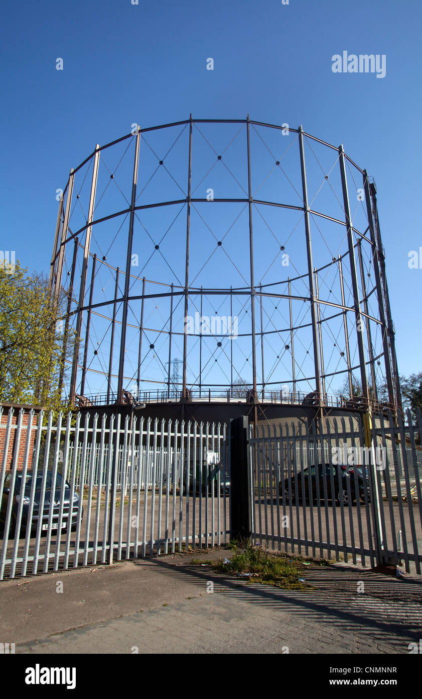 Gas works - Stock Image