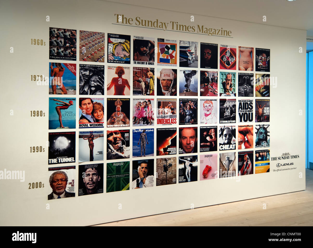 Sunday Times Exhibition, Saatchi Gallery, London - Stock Image
