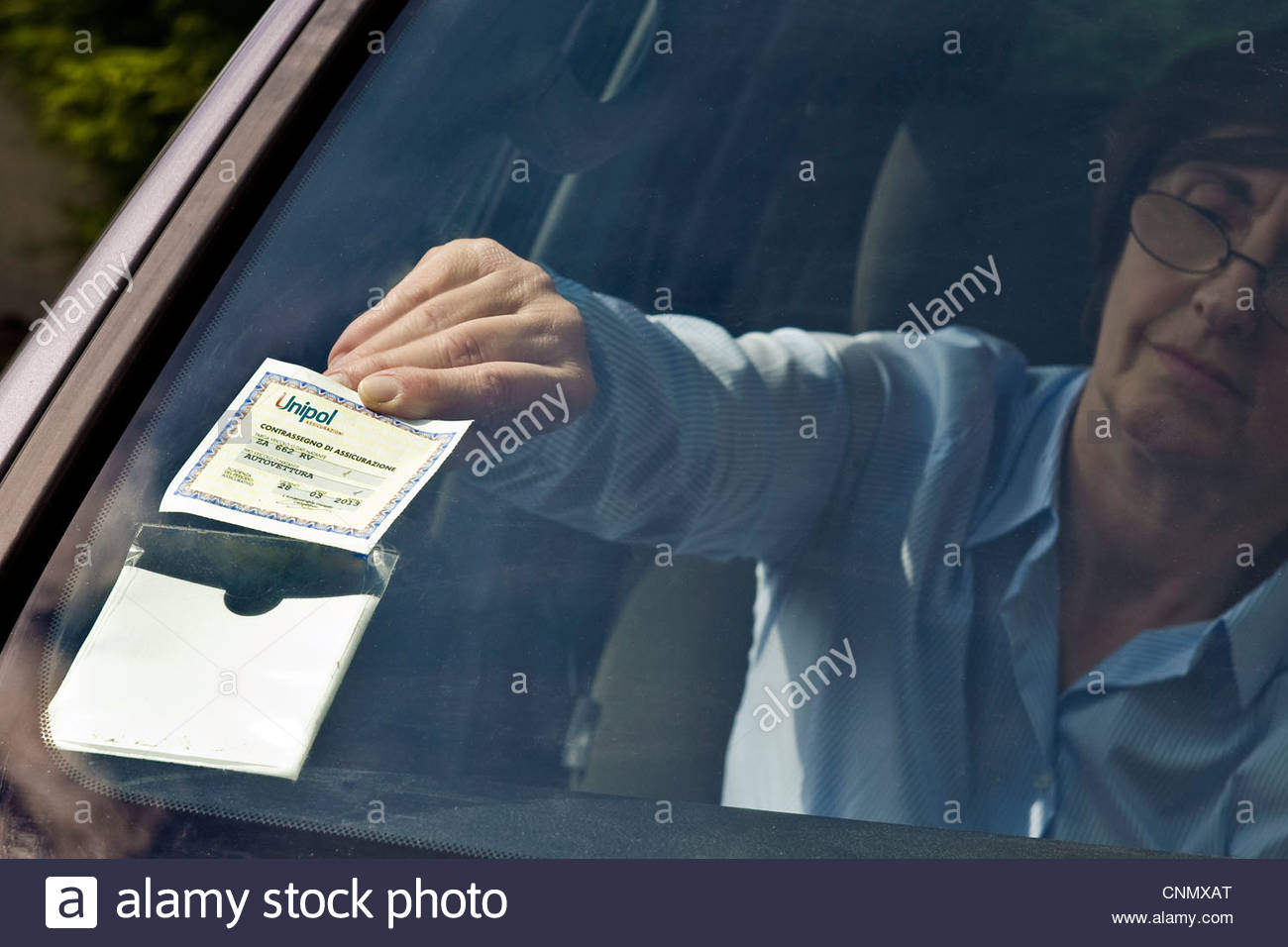 car insurance - Stock Image