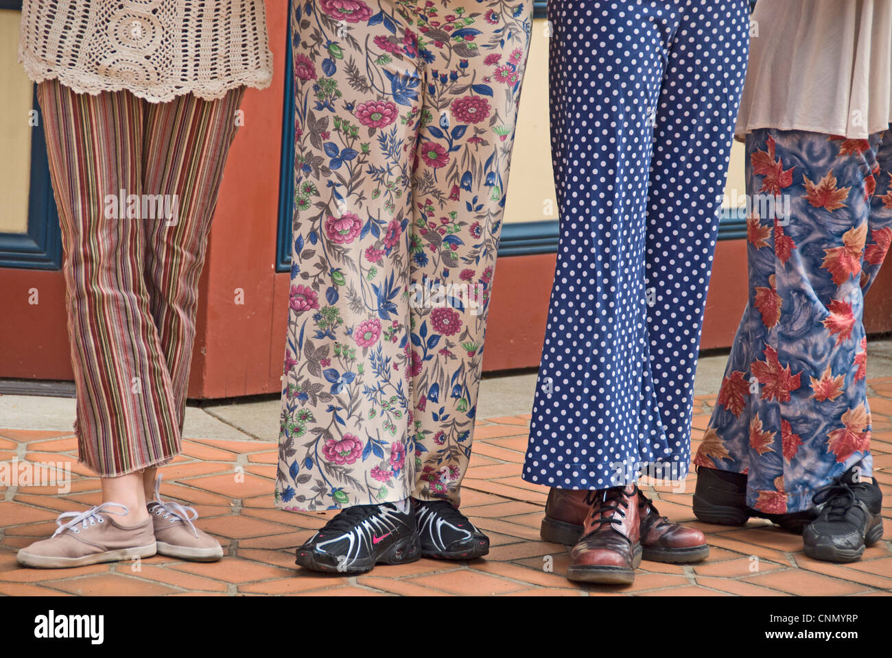 San Francisco s Trolley Dancers dress in eclectic-style slacks (and shoes) 3e68386b0