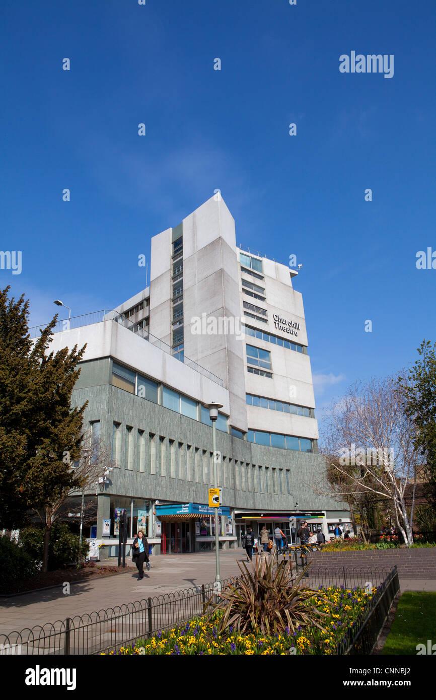 Churchill theatre bromley - Stock Image