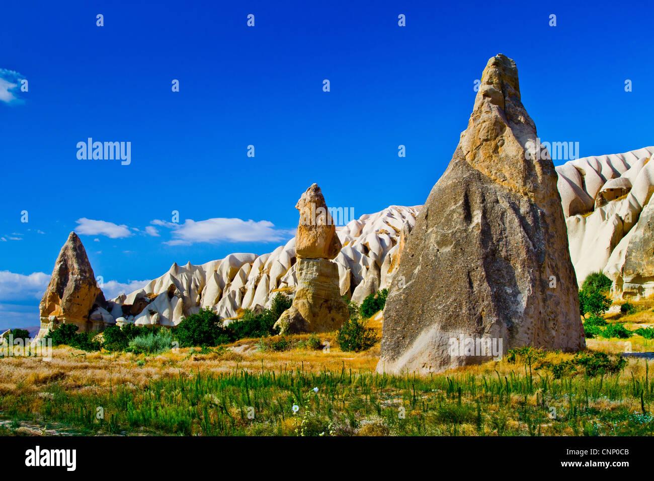 Cappadocia Region. Nevsehir province. Turkey - Stock Image