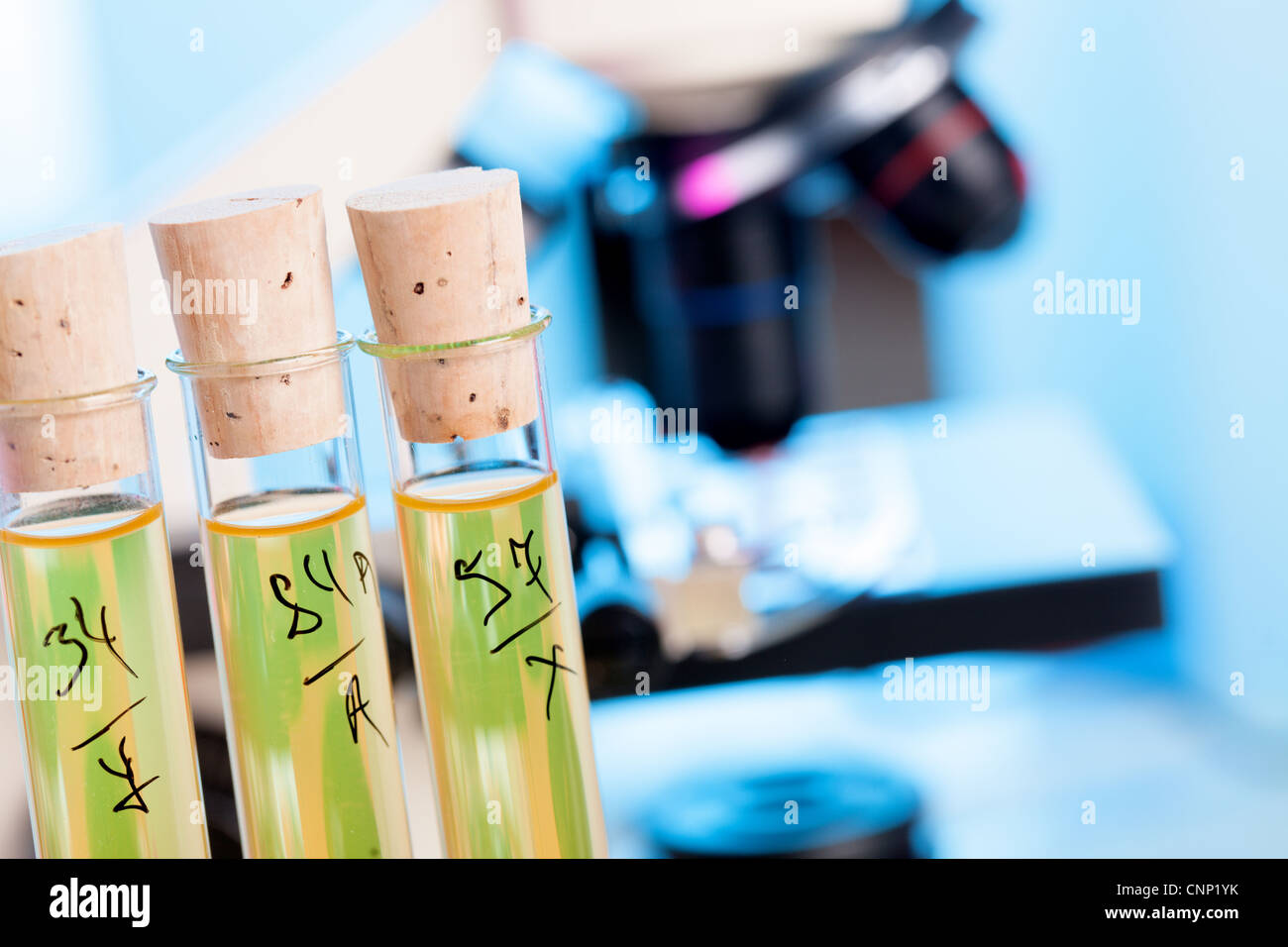 Control safety of food additives in chemical Lab - Stock Image
