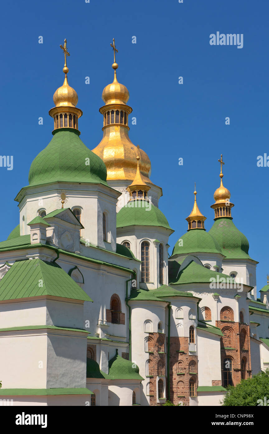 St Sophia Cathedral Complex, Kiev, Ukraine, Europe. - Stock Image