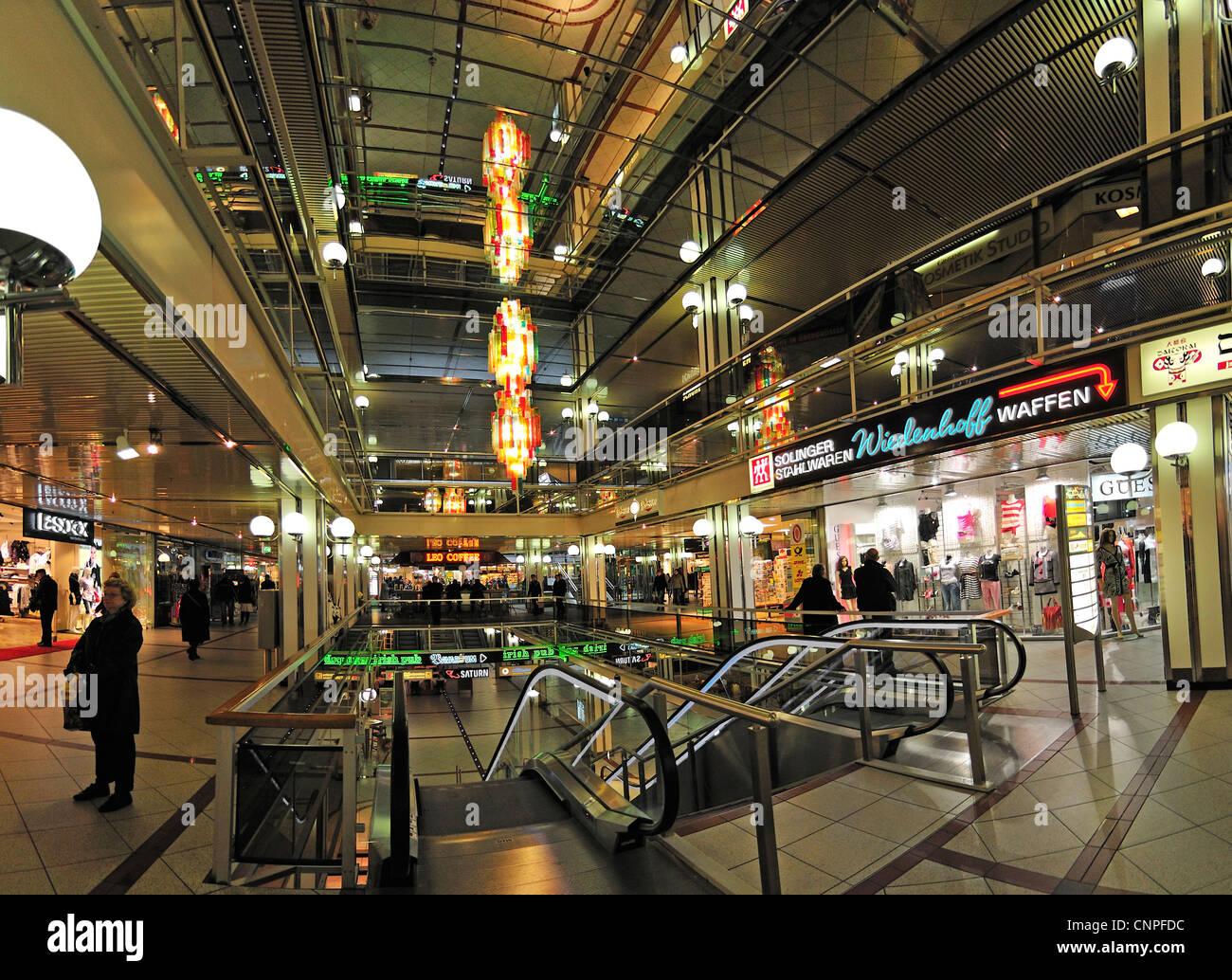 Berlin, Germany. Europa-Center in Breitscheidplatz. - Stock Image