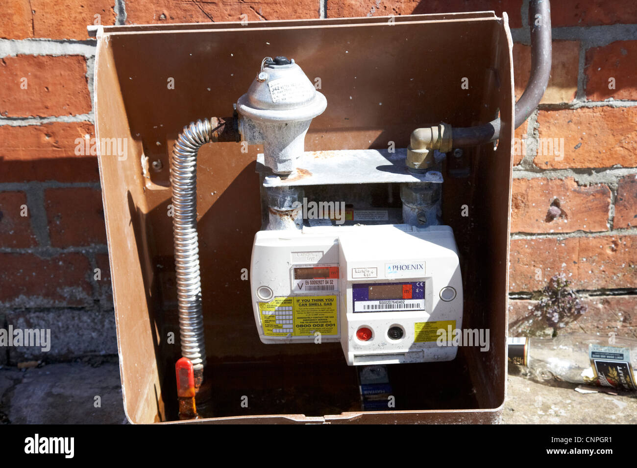 how to turn on gas meter
