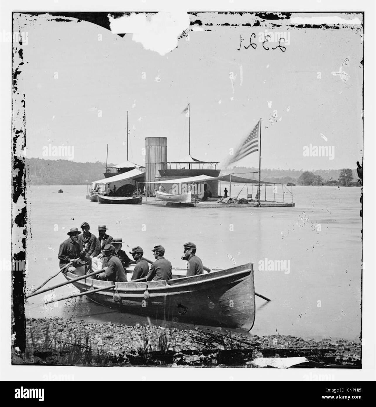 The American Civil War (1861–1865), - Stock Image