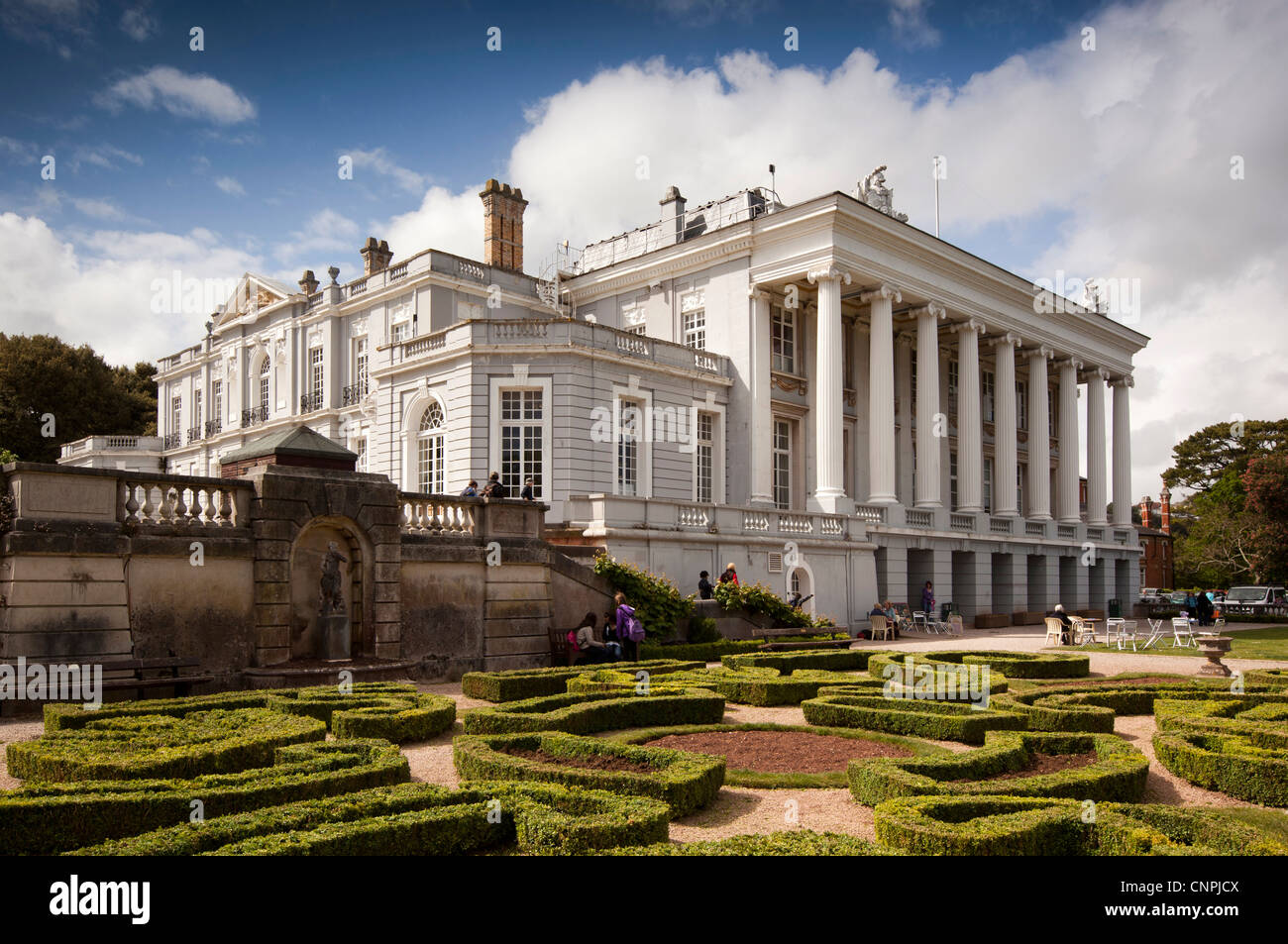 UK, England, Devon, Paignton, Oldway Mansion, former home of Singer family, now civic building - Stock Image