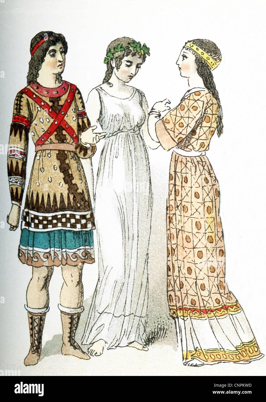 Asia Minor Clothes Stock Photos & Asia Minor Clothes Stock ...