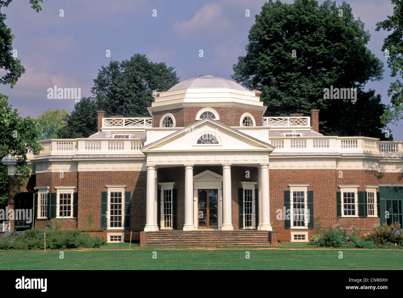 Pleasing Monticello Plantation Home Of President Thomas Jefferson Home Interior And Landscaping Synyenasavecom