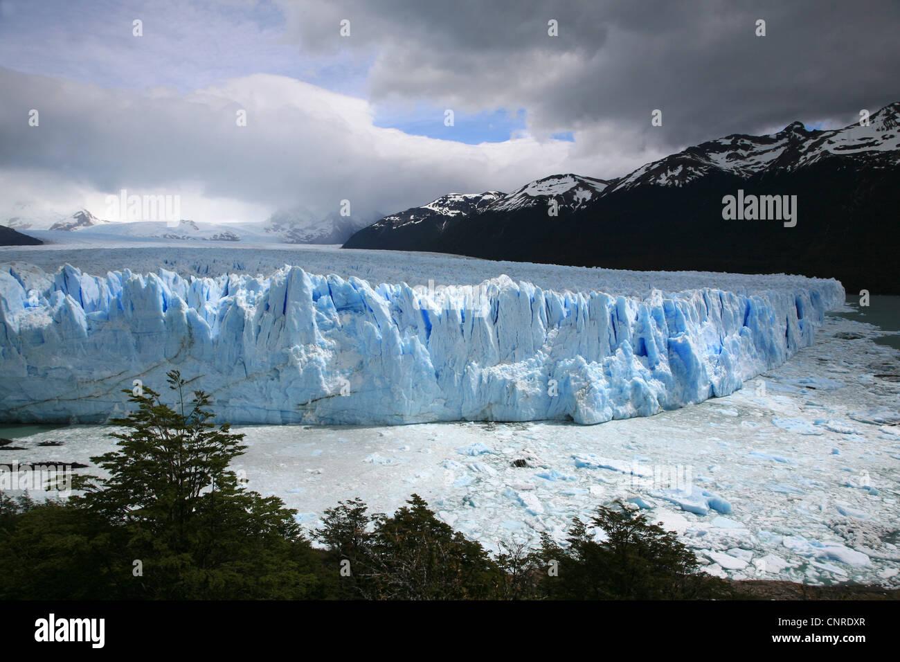 glacier Perito Moreno, Argentina, Patagonia - Stock Image