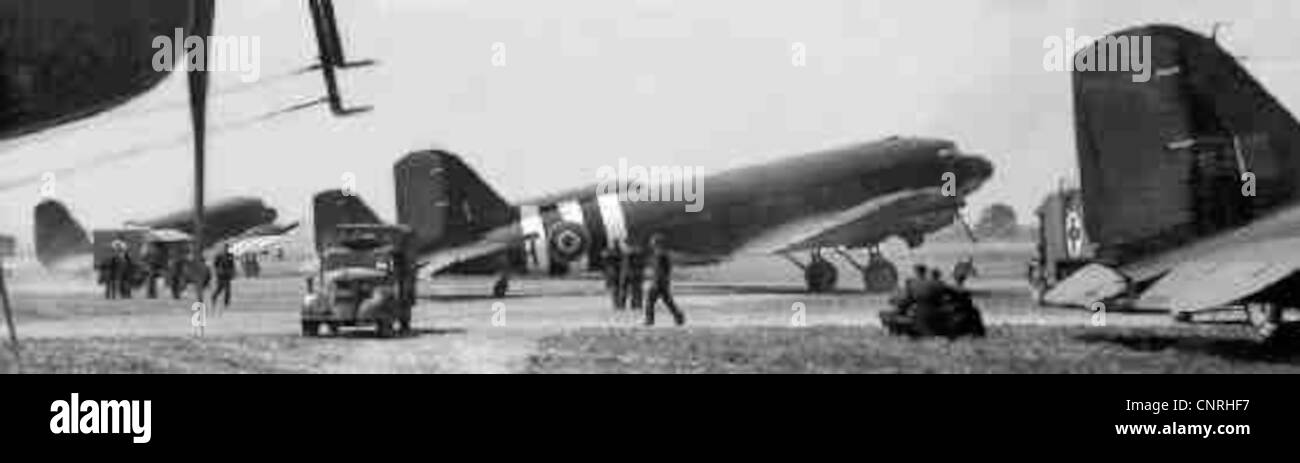 Dakotas, Operation Overlord, 1944 Stock Photo