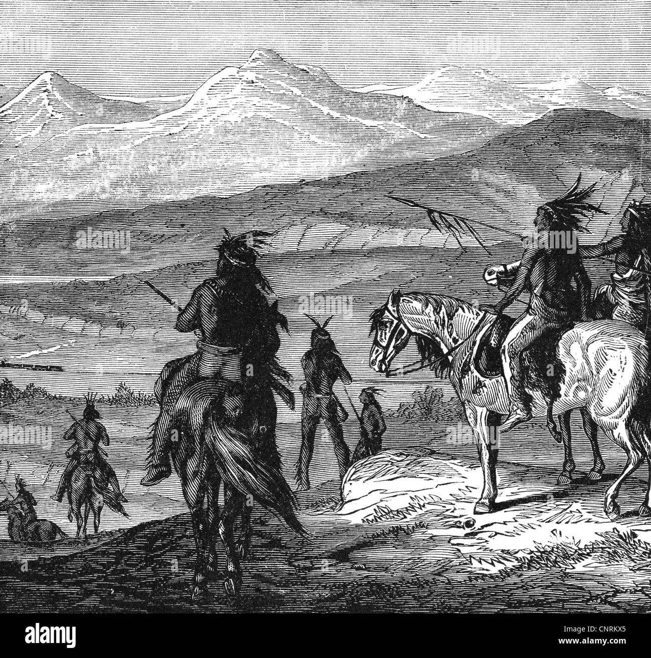 plains indians geography