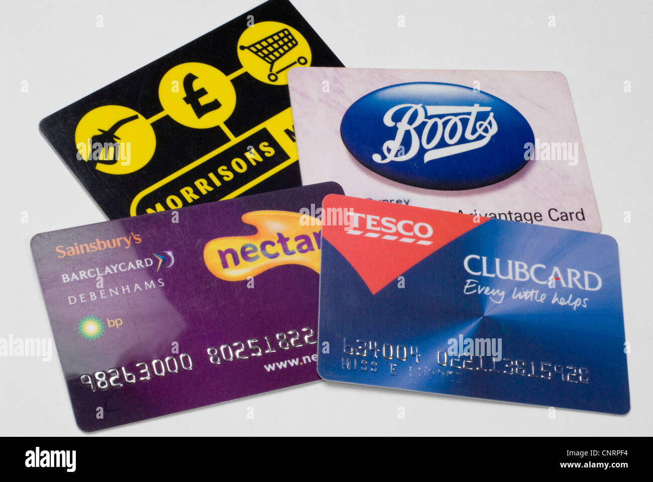 Store Loyalty Cards Stock Photo: 47851080 - Alamy