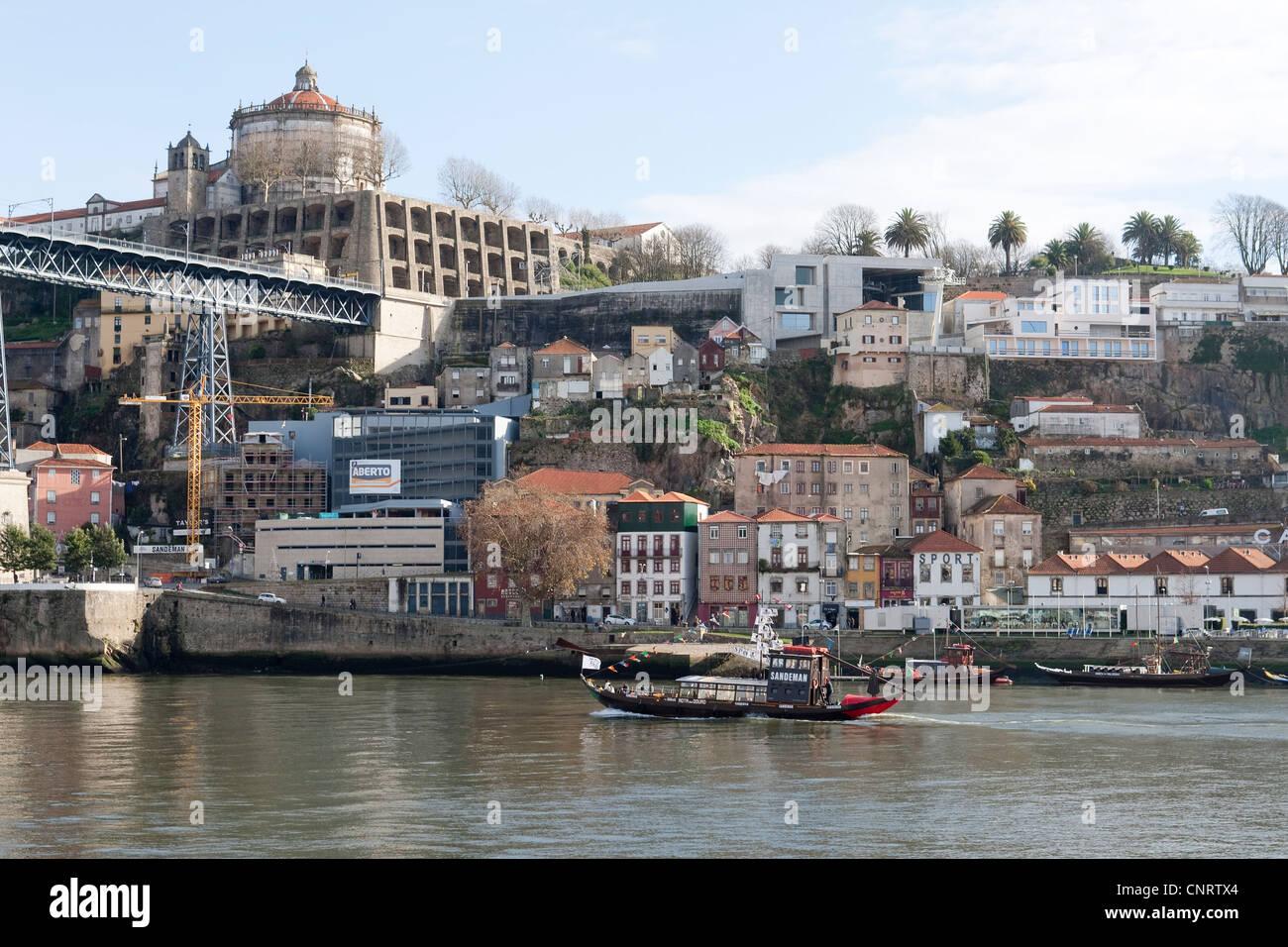 River Douro, Oporto, Portugal - Stock Image