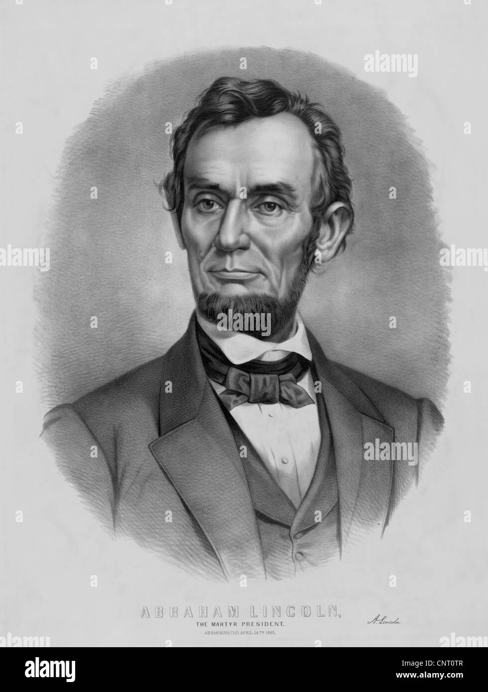 photograph regarding Printable Pictures of Abraham Lincoln identify Digitally restored classic Abraham Lincoln print Inventory Image