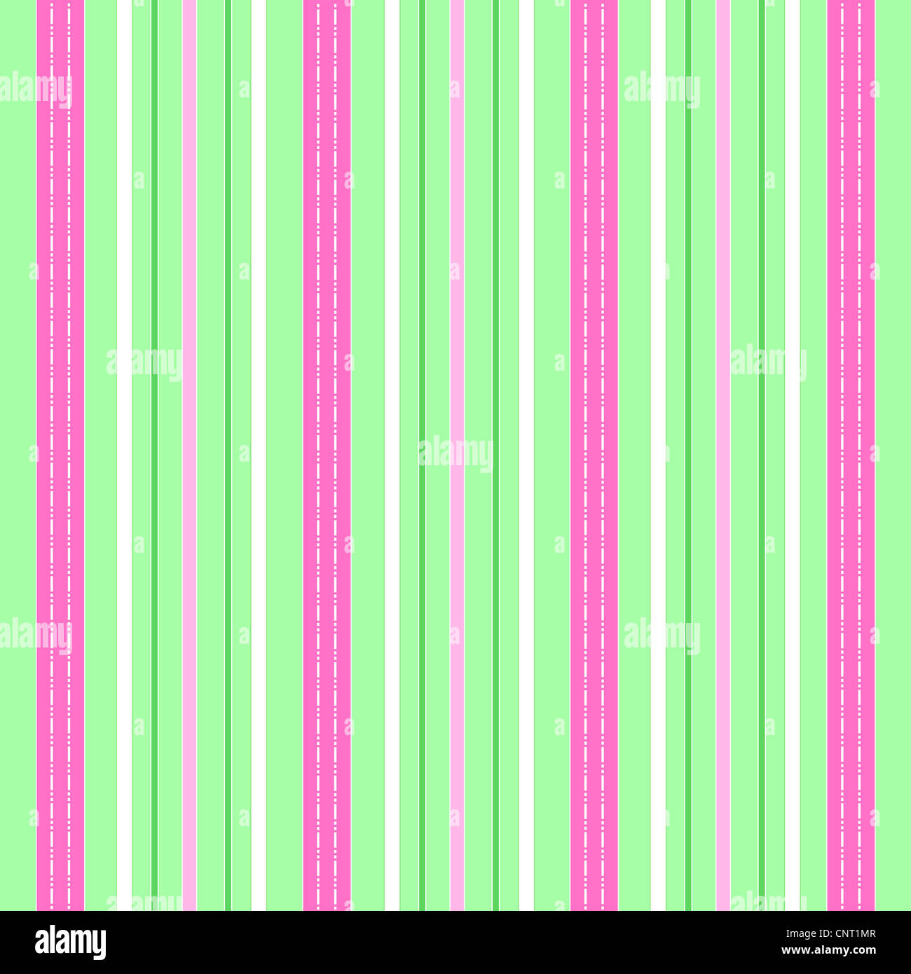 Green and pink colorful stripes pattern Stock Photo