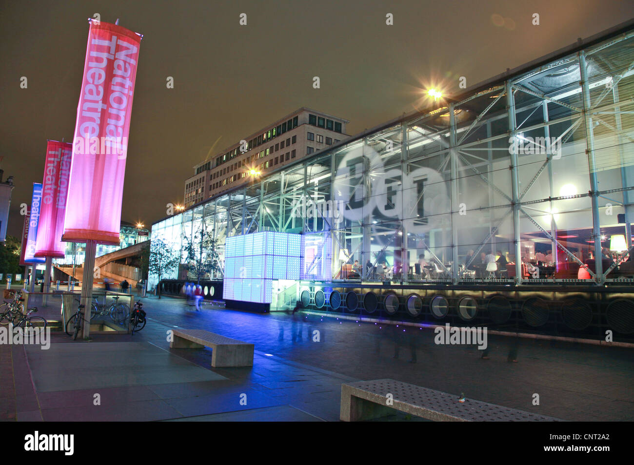 British Film Institute, Southbank, London, UK - Stock Image