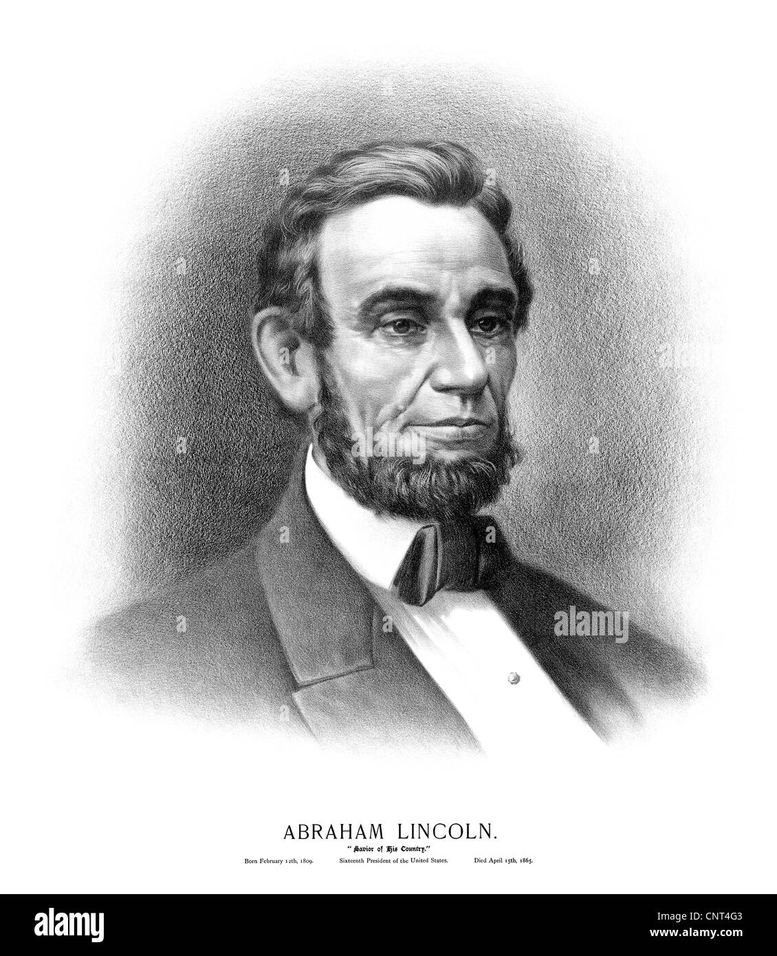 picture relating to Printable Pictures of Abraham Lincoln known as Typical Civil War technology print of the bust of President Abraham