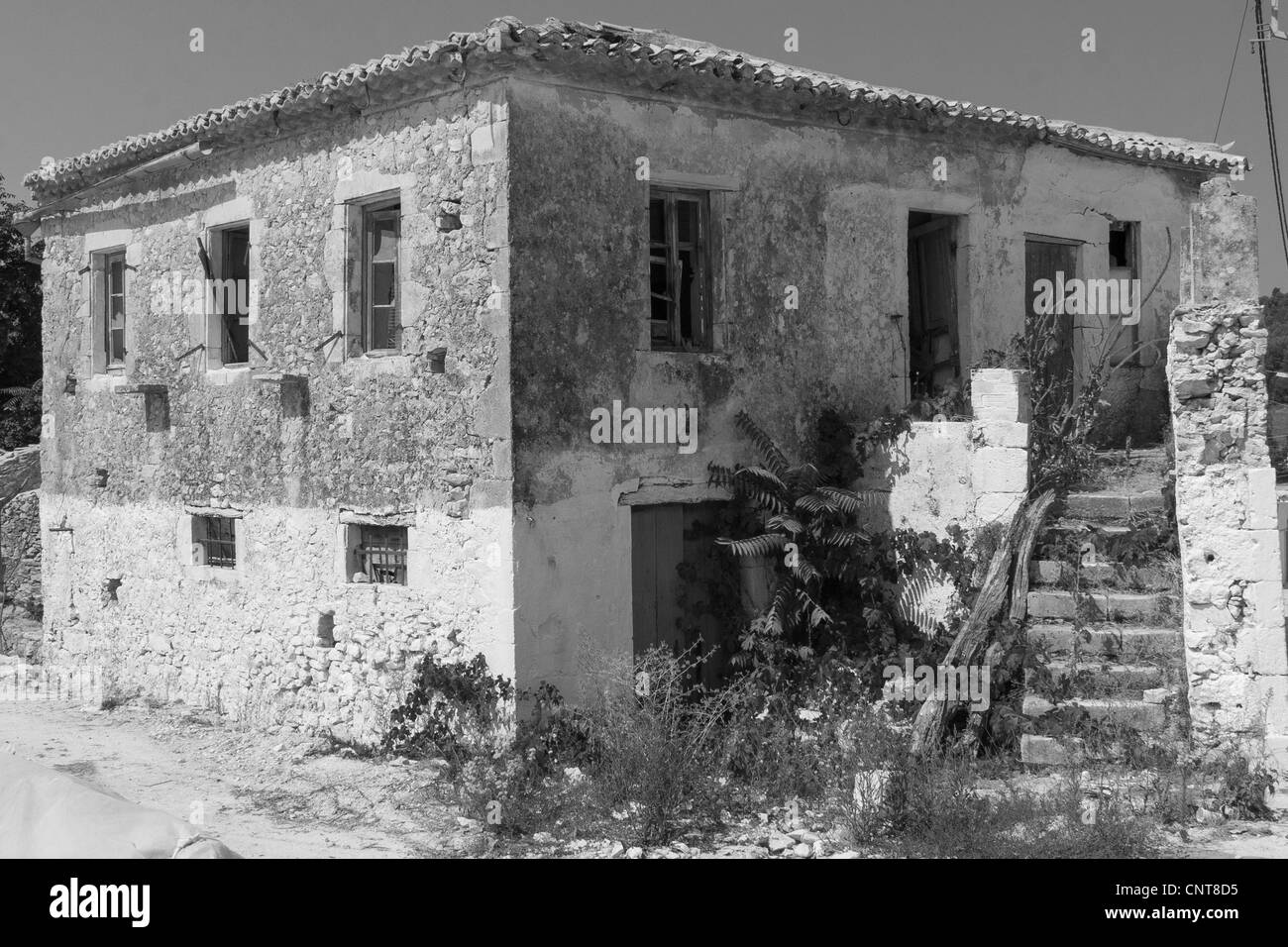 Volimes deserted house - Stock Image