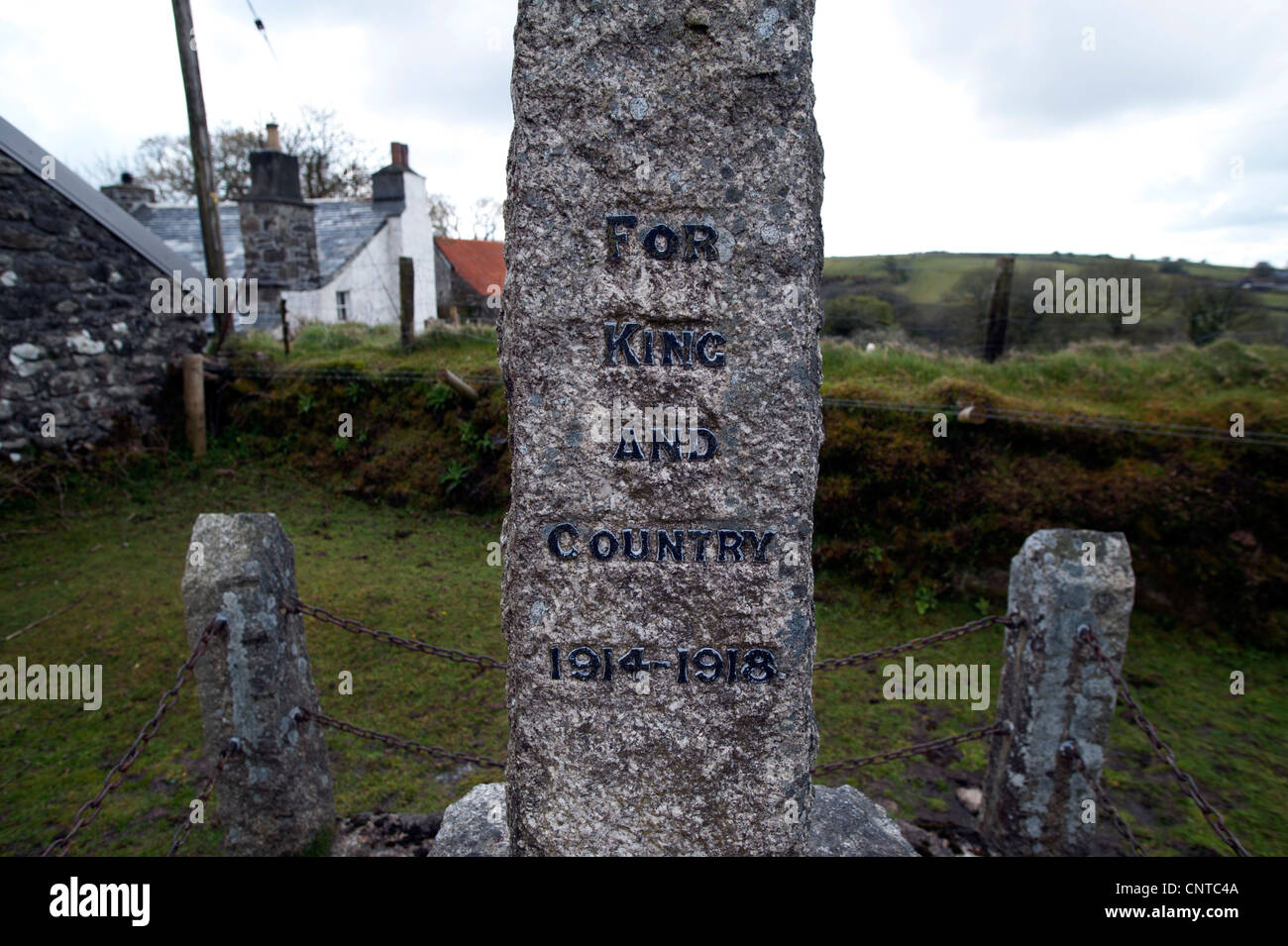 Bodmin Moor, The Hamlet of Temple, Cornwall, England,UK. April 2012. - Stock Image