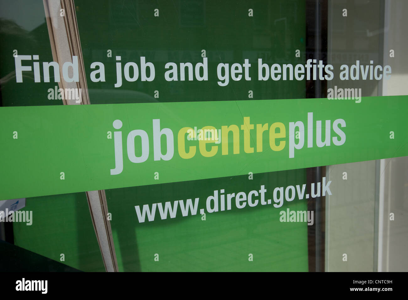 Job centre in England - Stock Image