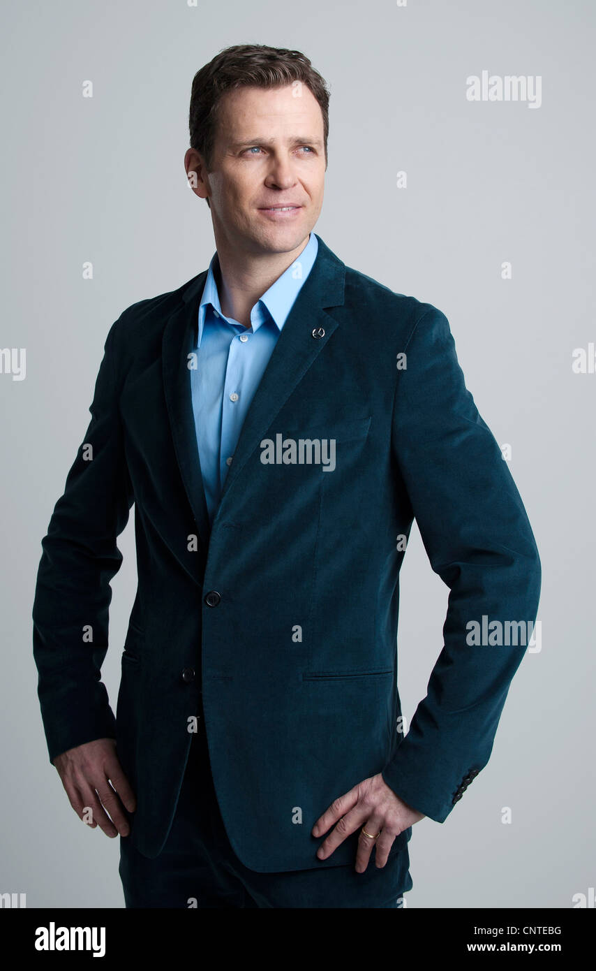 Manager, Oliver BIERHOFF, German National Football Team - Stock Image