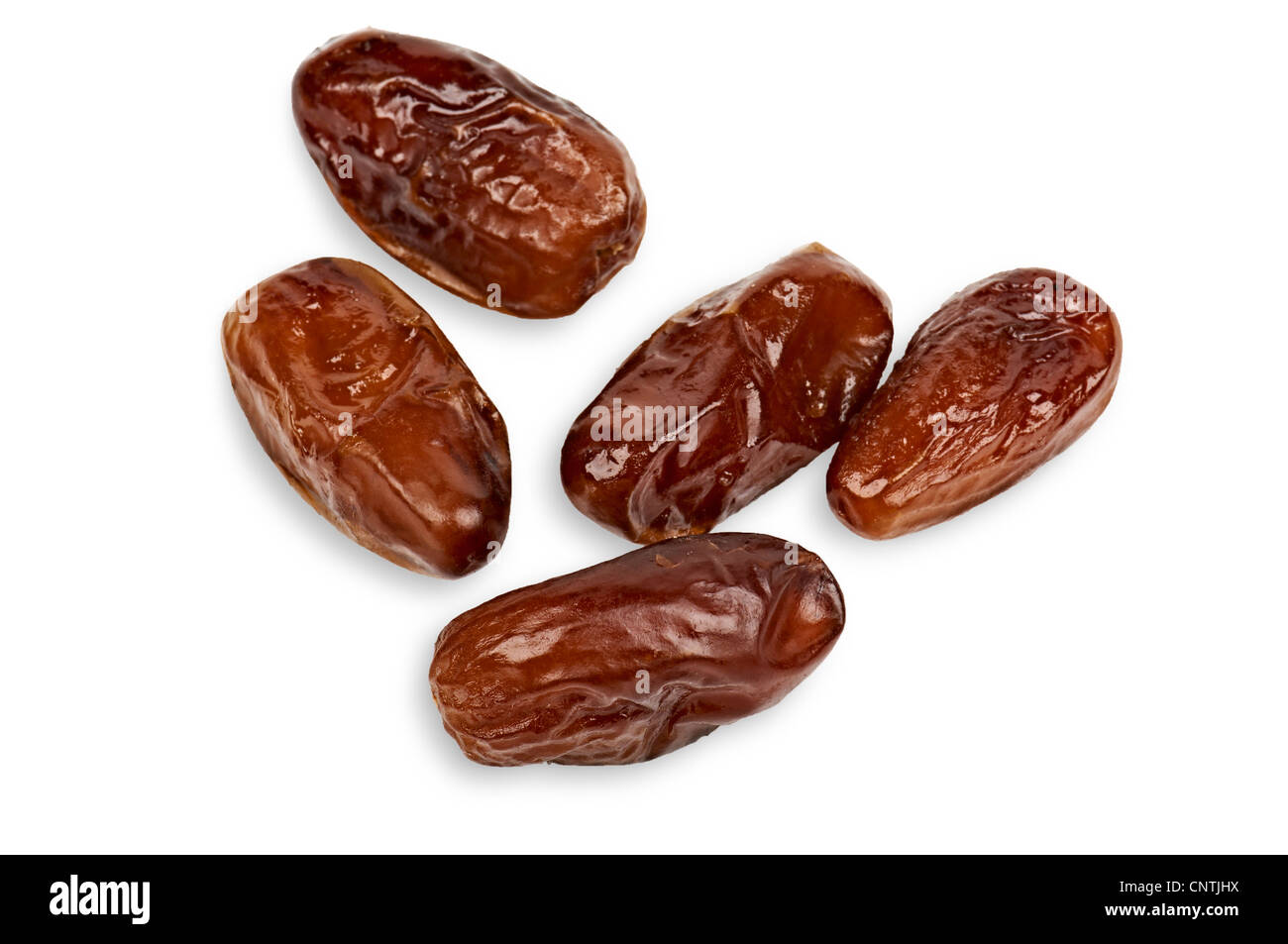 Dried Dates - Stock Image