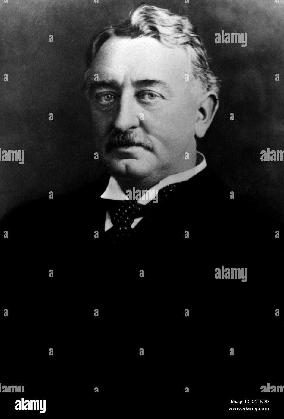 Rhodes, Cecil  5.7.1853 - 26.3.1902, British politican, Prime Minister of the Cape Colony 1890 - 1896, portrait, - Stock Image