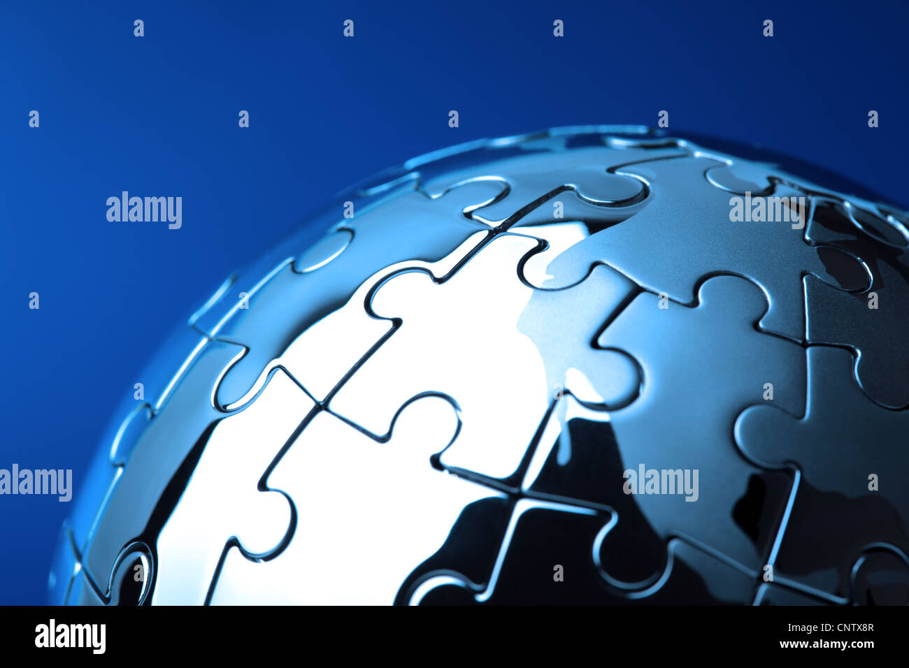 Global solution - Stock Image
