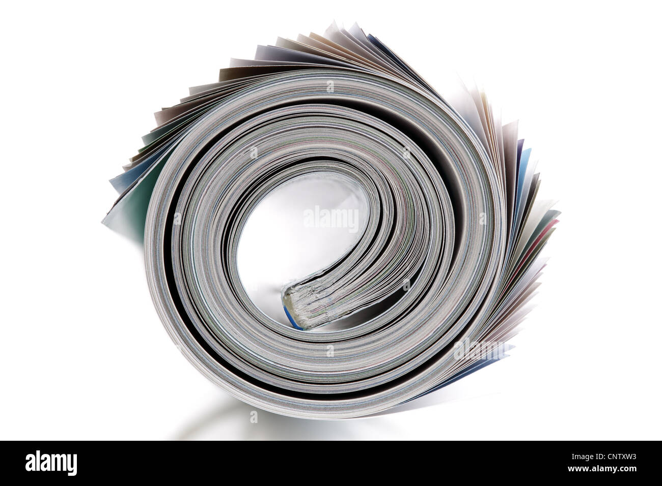 Magazine roll - Stock Image