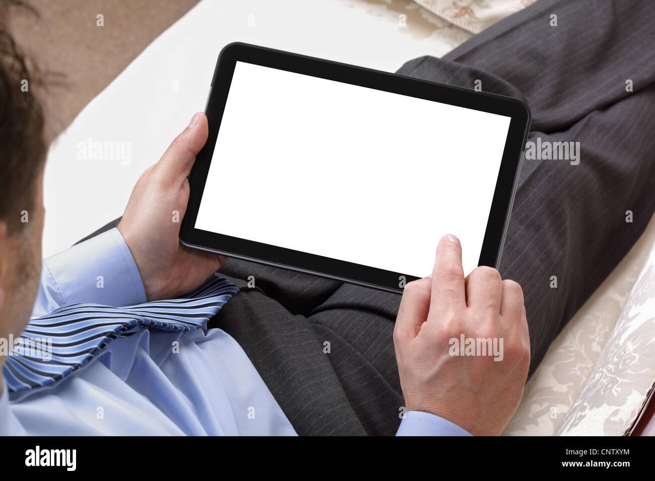 Digital tablet - Stock Image