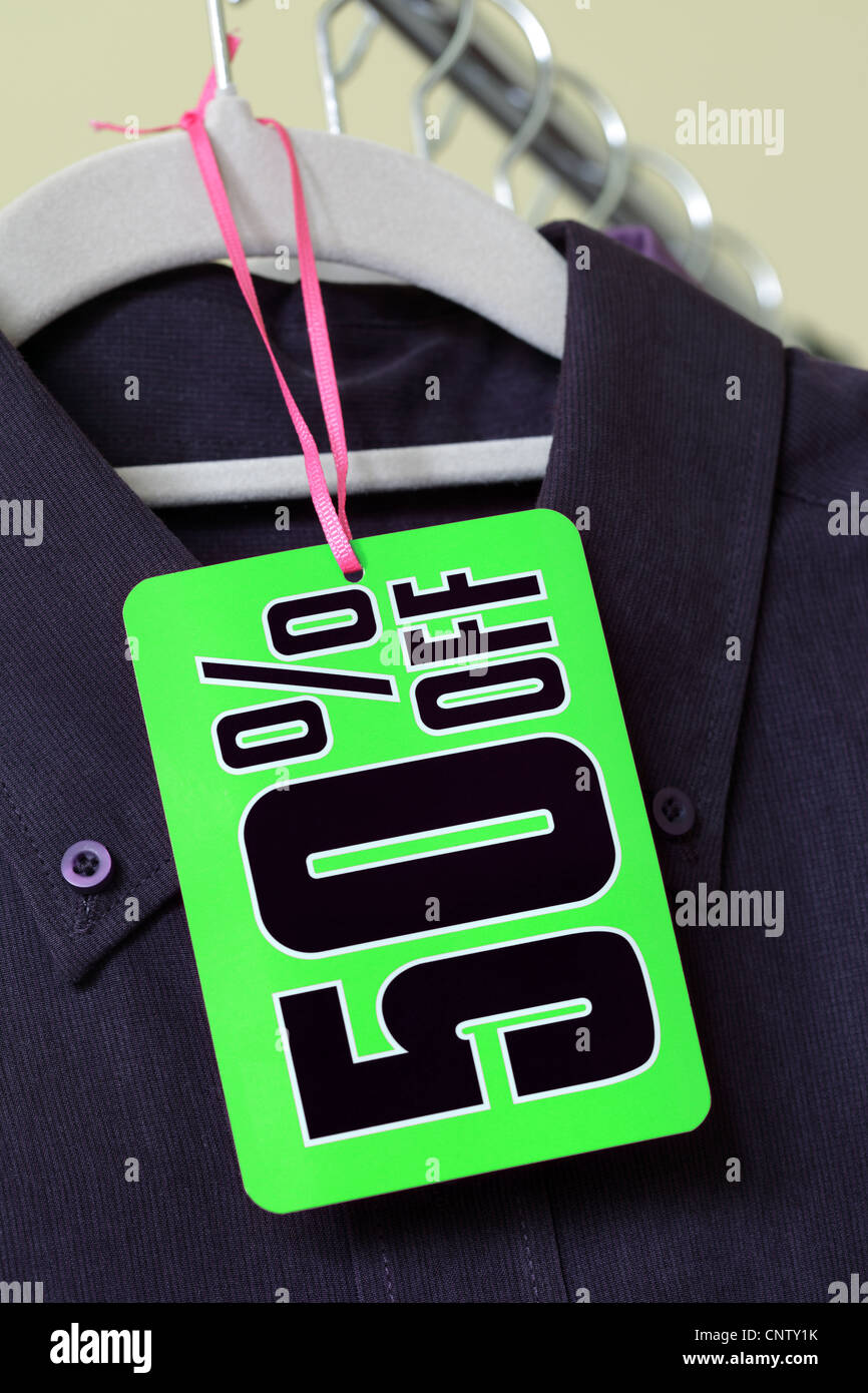 Sale discount tag - Stock Image