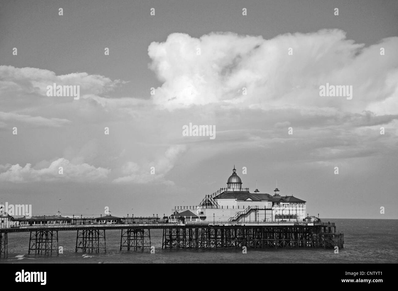 Eastbourne Pier, Eastbourne, East Sussex, England, United Kingdom - Stock Image