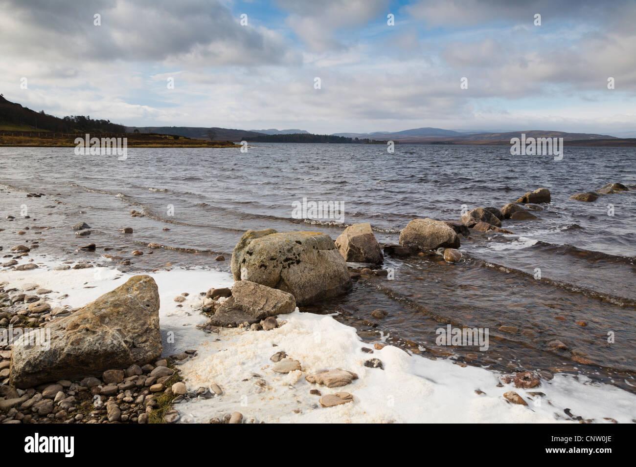 Lochindorb; Cairngorm; Scotland; UK - Stock Image
