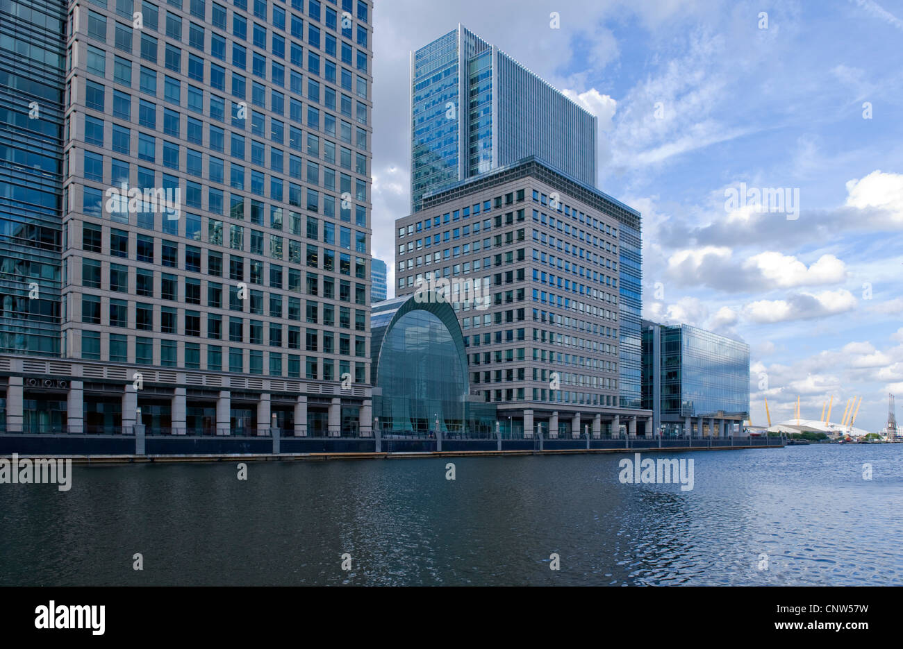 Europe England London, modern architecture in Jubilee Place - Stock Image