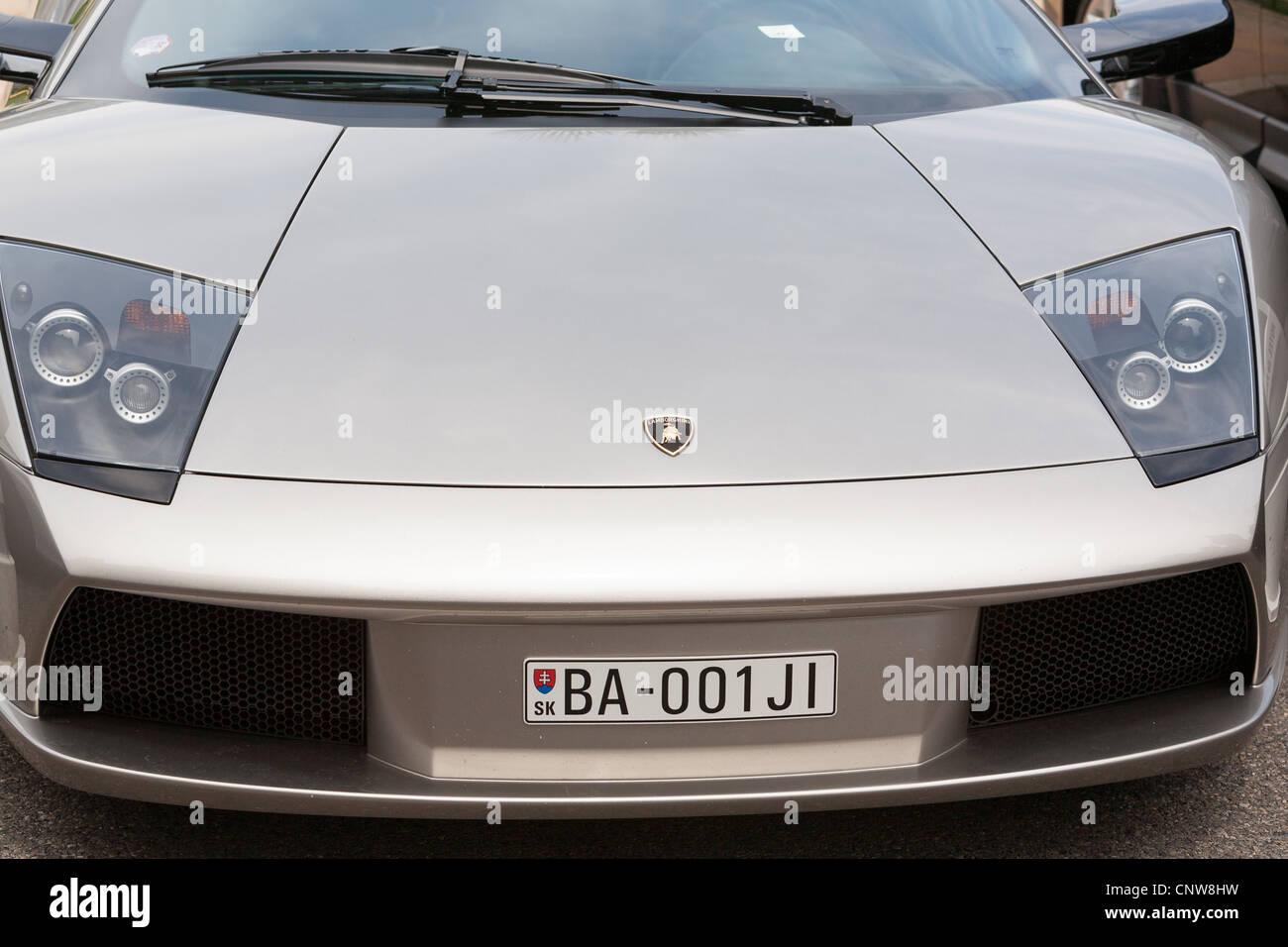 Lamborghini Car Montecarlo   Stock Image